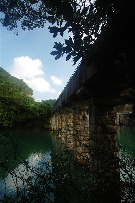English Style Stone Bridge of Tai Tam Byewash Reservoir大潭副水塘英式石橋