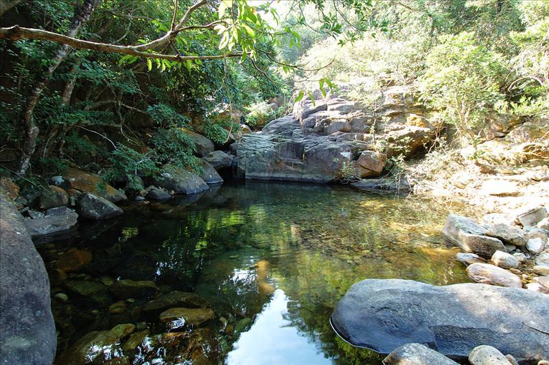 途經地塘仔澗 (曹溪) 清潭 Tei Tong Tsai Stream
