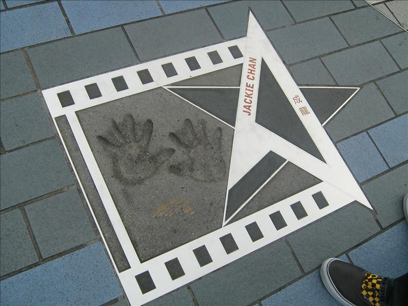 Jackie Chan on Avenue of the Stars