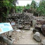The remnants of lime kiln 石灰窰遺址