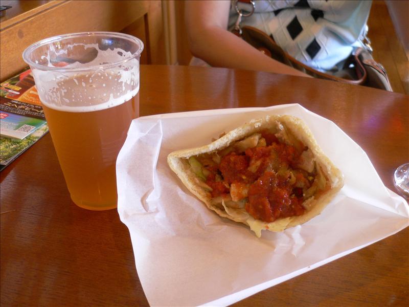 啤酒+墨西哥Taco