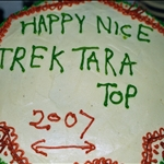 After trek cake!