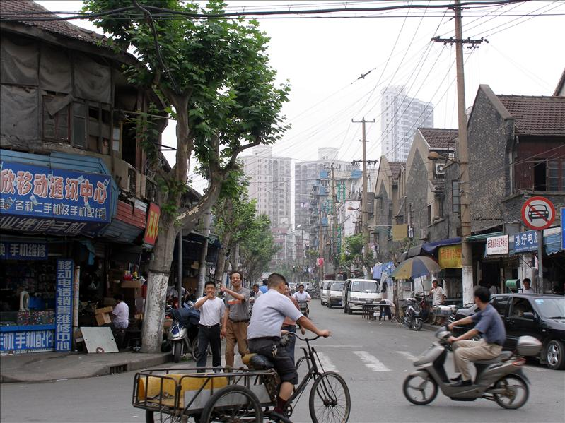 An older part of Shanghai that your tour guide wouldn't take you to.