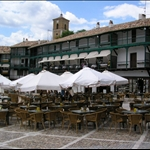 The Plaza at Chinchon....