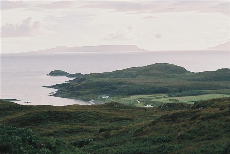 Sandaig, Eigg in the distance