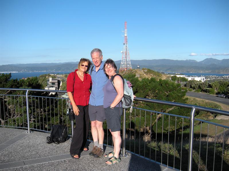 All 3 of us on the top of Victoria Hill