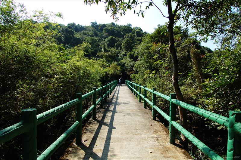 橫跨屏嘉石澗的橋山橋