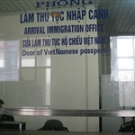 Vietnamese border - Immigration office