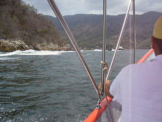 Boat ride to Yelapa