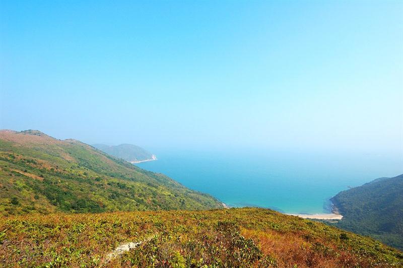 可以欣賞大鵬灣的景色