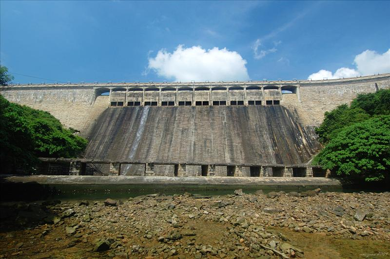 The magnificent Tai Tam Tuk Dam 大潭篤水壩