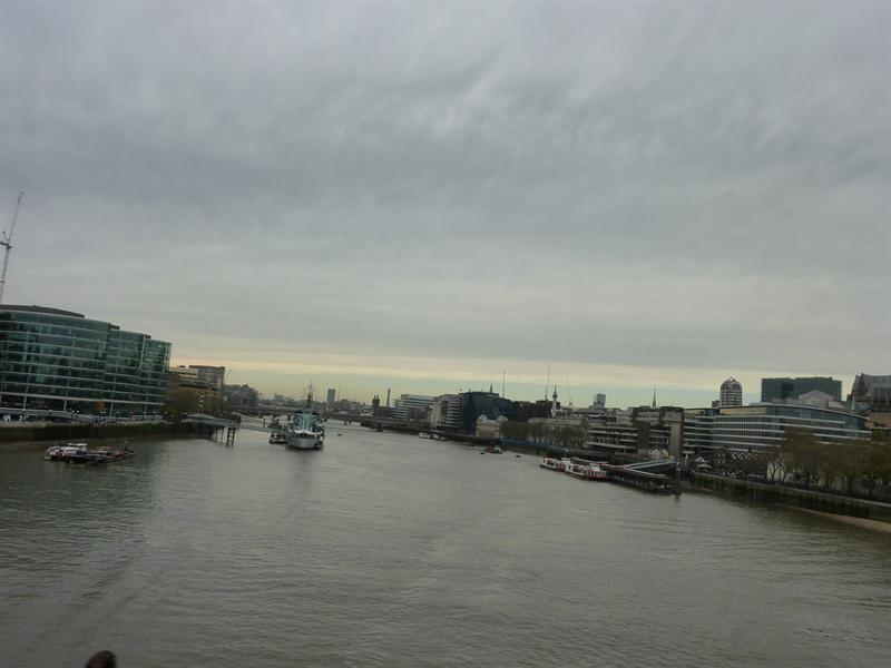 View from the London Bridge :D London (11.12-11.14)