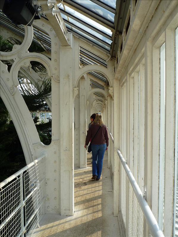 Upper walkway