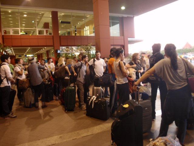 American arrivals