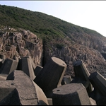 DSCN0002 六角柱石地質(流紋岩).jpg