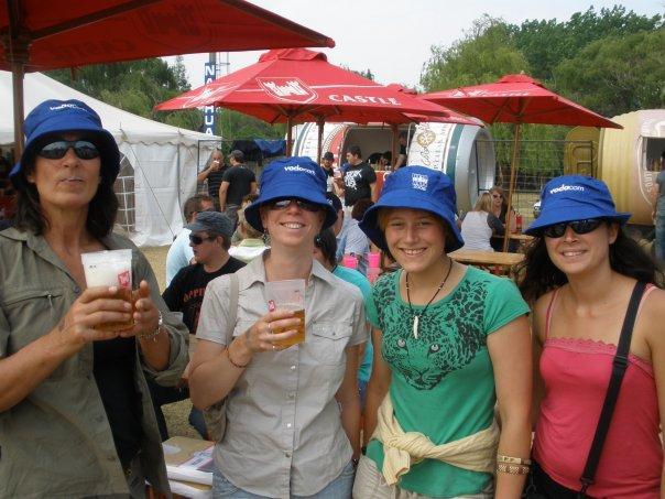 Marleen, Kate, Lin & me