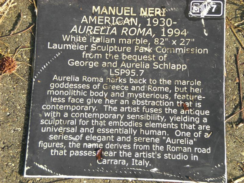 Aurelia Roma plaque
