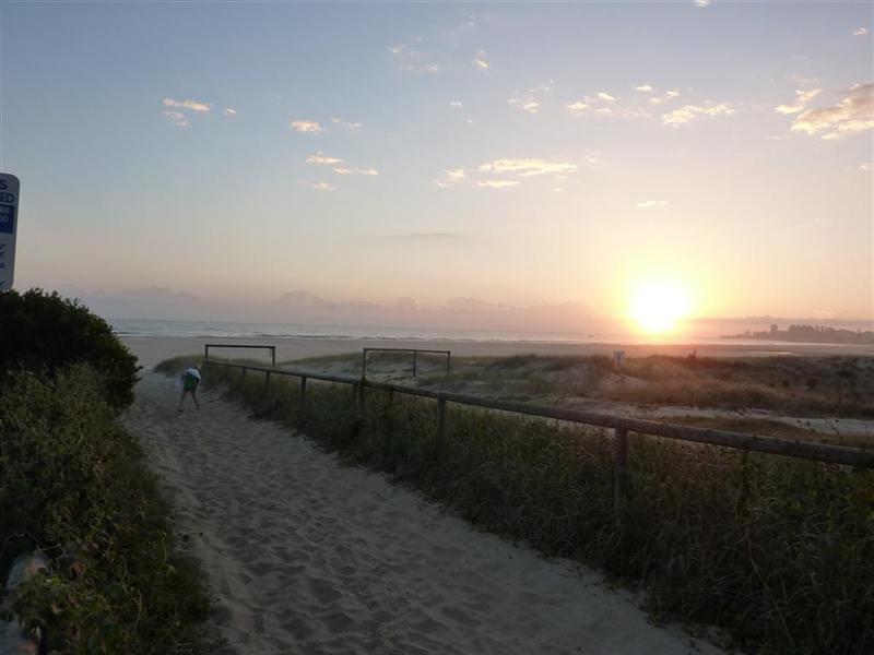 Sunrise Kirra Beach