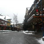 the village of Whistler