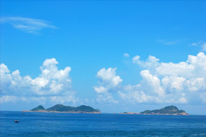 遠眺果洲群島