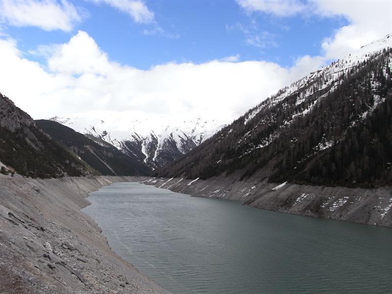 Livigno lake