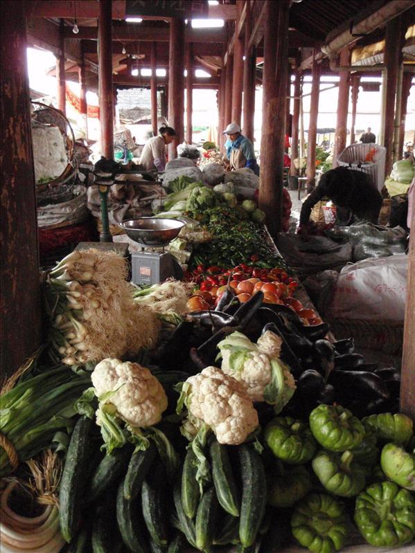 veggies, Lijiang
