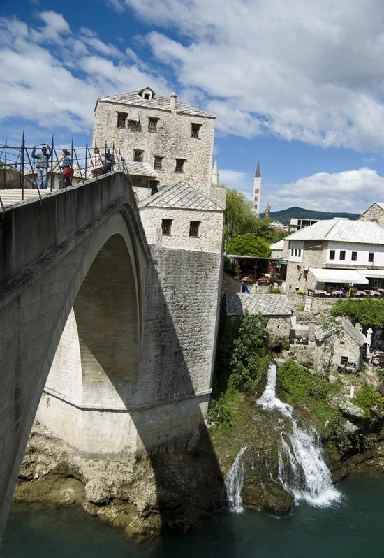 Mostar Famous Bridge