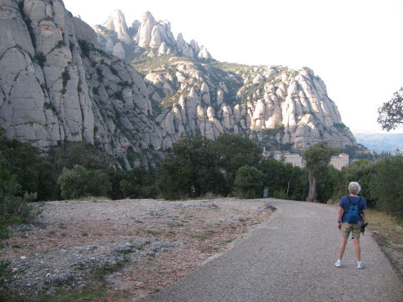 .. in the distinctive massif ....