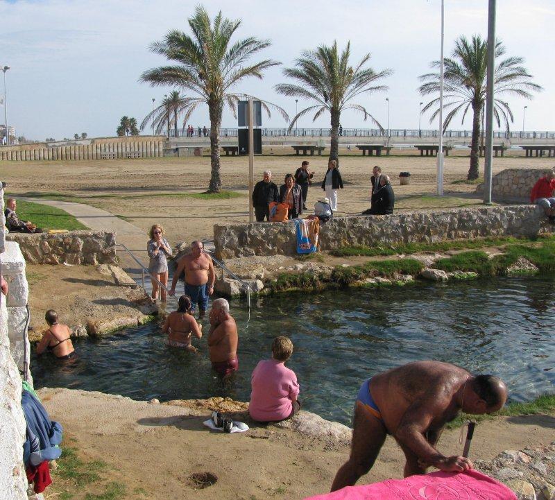 .. thermal spring....