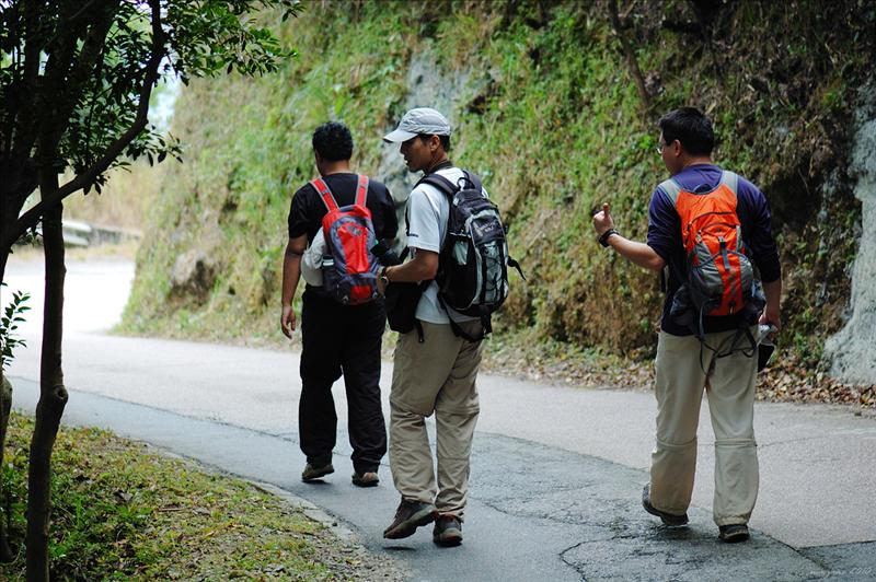 轉落飛鵝山道 Fei Ngo Shan Road