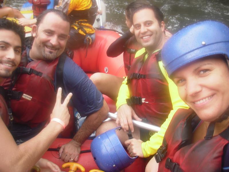Rafting buddies