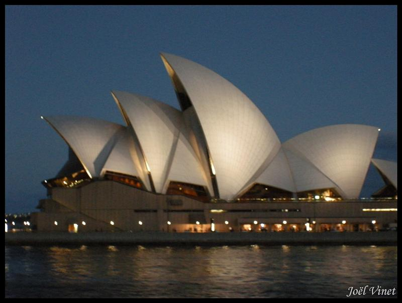 Opera House at twilight