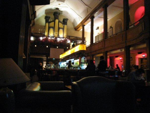 Church Bar...was an old church