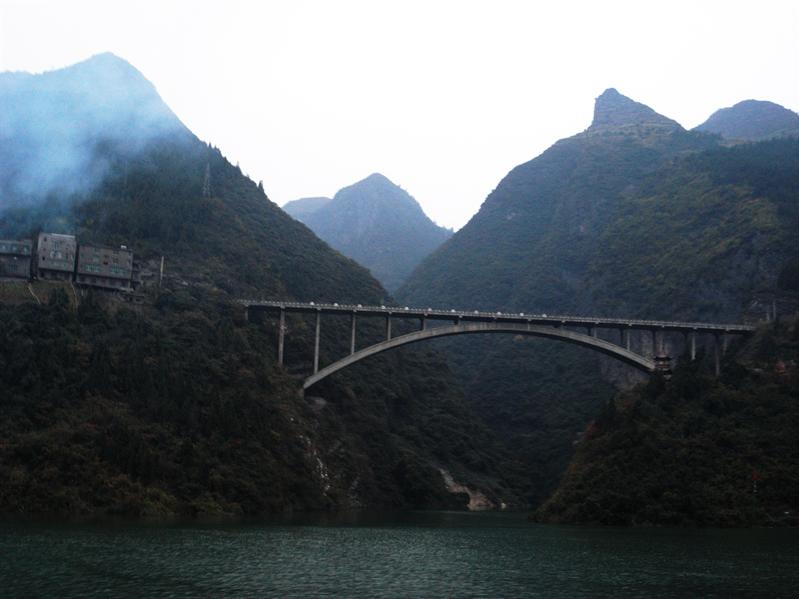 down the yangtze