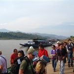 Arrival in Laos