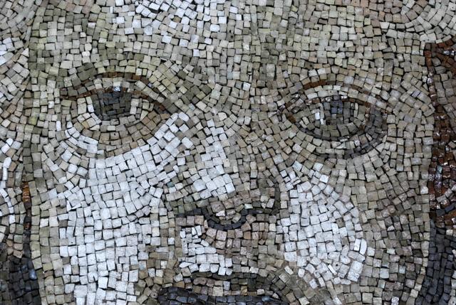 Stunning mosaics