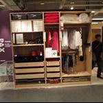 IKERA:組合式衣櫃