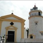 聖母雪地殿教堂和東望洋燈塔 @ 東望洋山炮台Guia Fortress