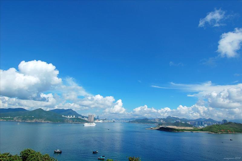南堂海峽風景