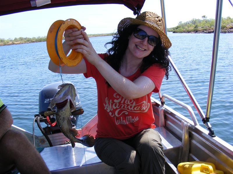 Me with a Cod, Kalumburu