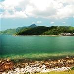DSC_8558 過漁民新村後已可眺望高流灣及尖削的蚺蛇尖.jpg