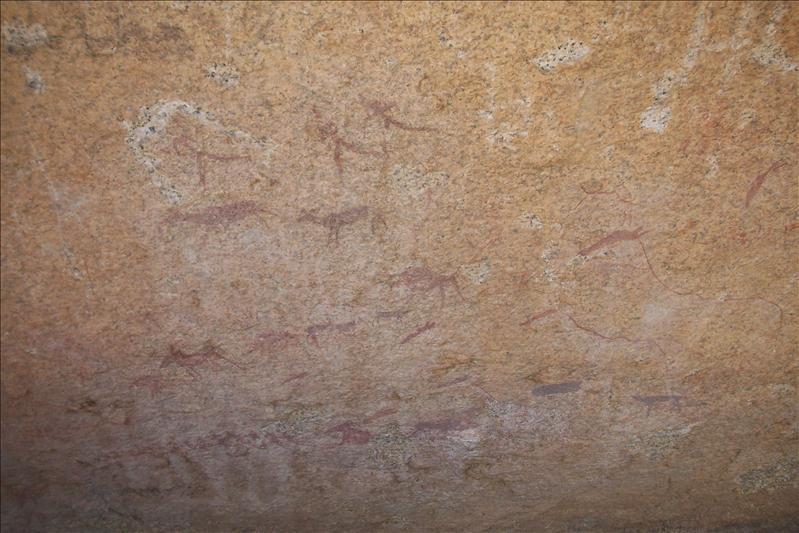 bushman painting / peintures rupestre