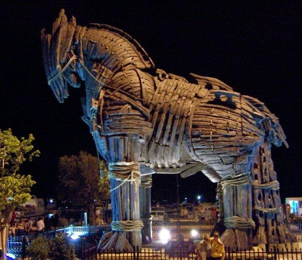 TROJAN HORSE AT CANAKKALE