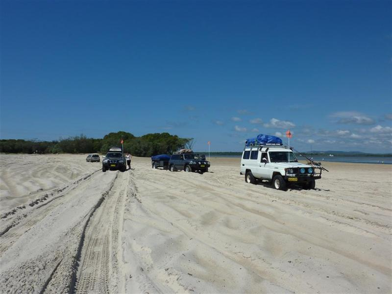 Wating for the Ferry at Inskip Point
