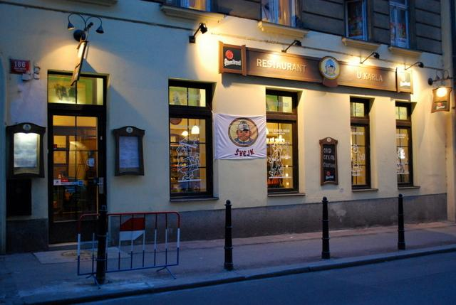 A traditional Czech restaurant - heavy on the meat