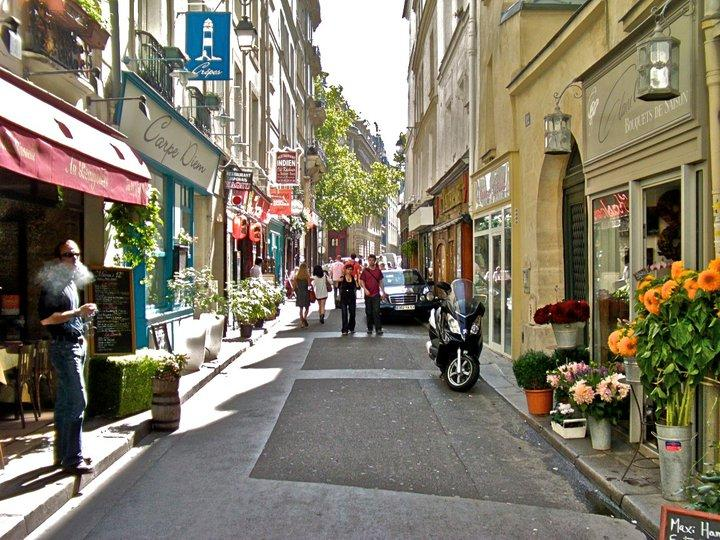 classic side street off of Saint-Germaine. (9/11)