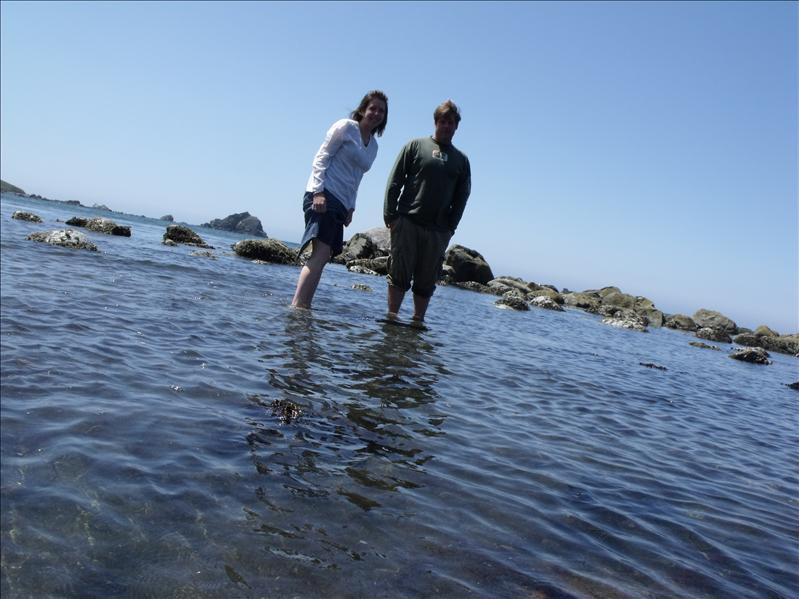 It was great being in the Pacific Ocean!