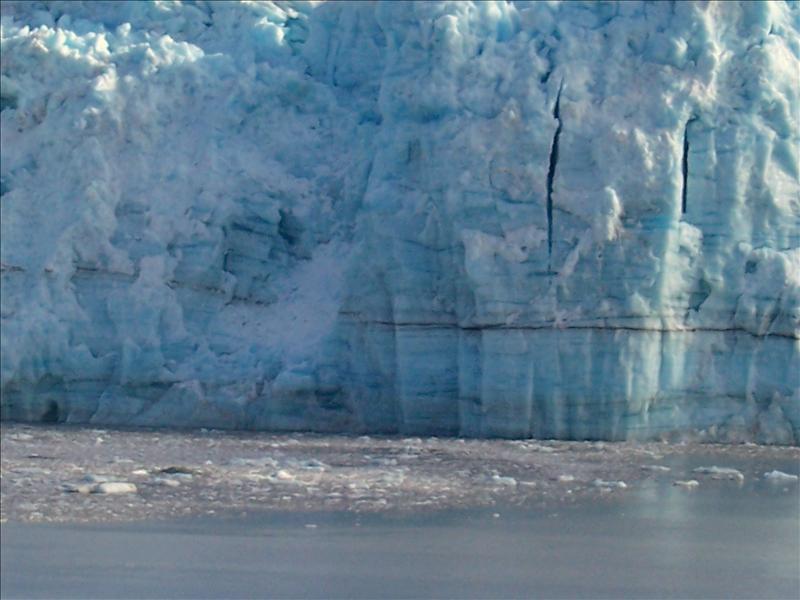 Icebergs were cracking...
