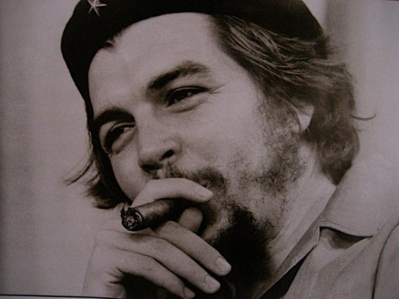 Infamous picture of Che.