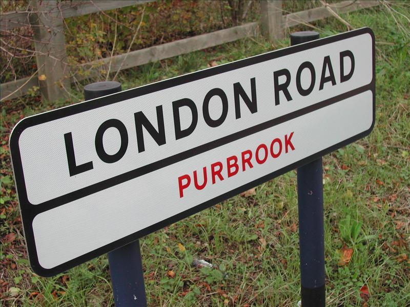 London Road Waterlooville, England
